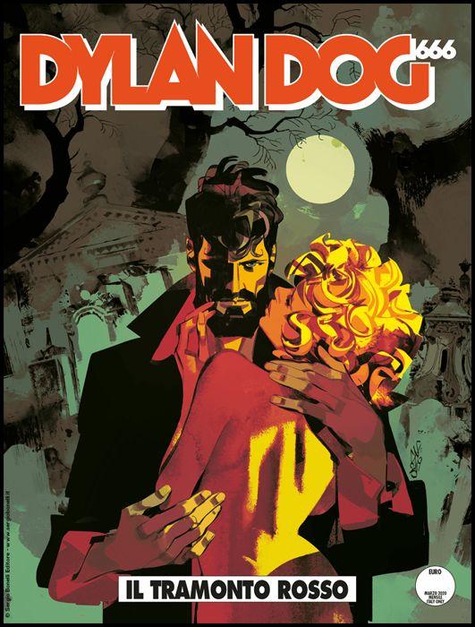 DYLAN DOG ORIGINALE #   402 - 666 PARTE 2: IL TRAMONTO ROSSO