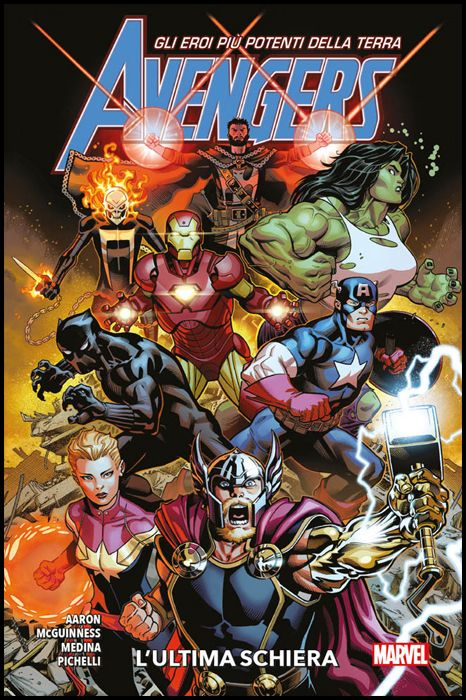 MARVEL COLLECTION - AVENGERS 3A SERIE #     1: L'ULTIMA SCHIERA