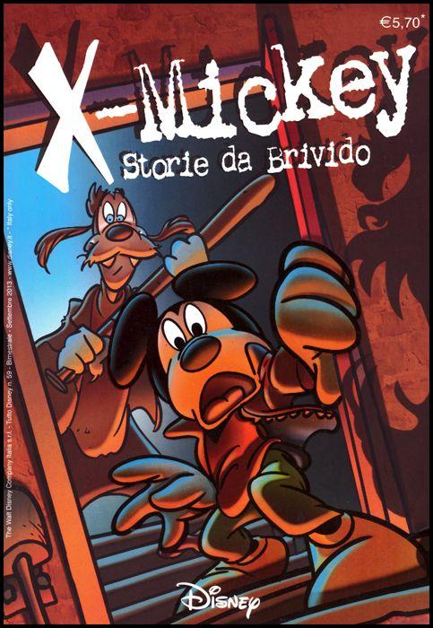 TUTTO DISNEY #    59 - X-MICKEY: STORIE DA BRIVIDO