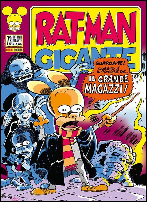 RAT-MAN GIGANTE #    73: IL GRANDE MAGAZZI E IL PRINCIPE MEZZO ROSPO