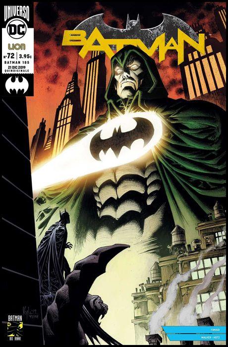 BATMAN #   185 - BATMAN 72