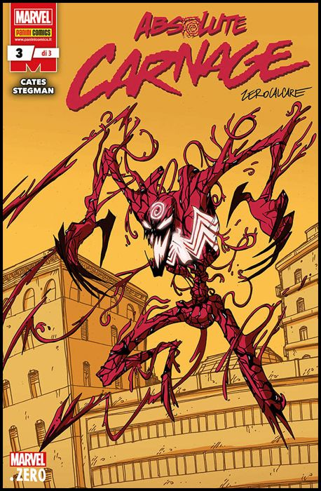 MARVEL MINISERIE #   229 - ABSOLUTE CARNAGE 3 - COVER B - VARIANT ZEROCALCARE