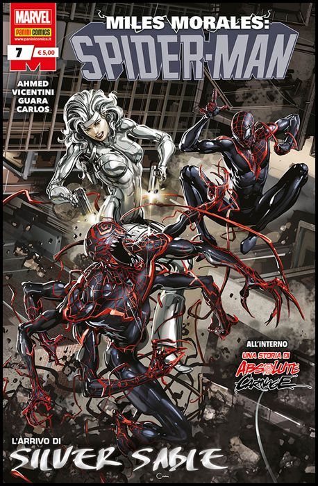 MILES MORALES: SPIDER-MAN #     7 - ABSOLUTE CARNAGE