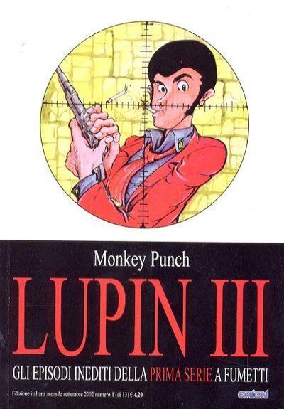 LUPIN III CLASSIC 1/13 COMPLETA OTTIMI