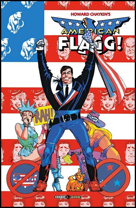 COSMO GOLDEN AGE #    24 - AMERICAN FLAGG 6