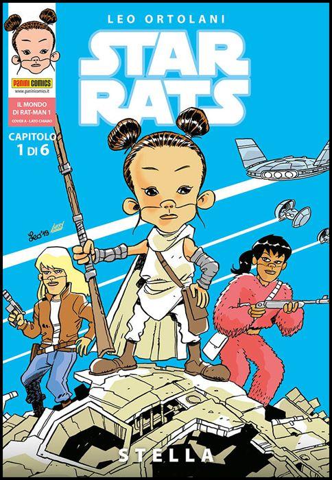 IL MONDO DI RAT-MAN #     1 - STAR RATS 1: STELLA - COVER A - LATO CHIARO