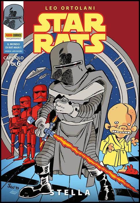 IL MONDO DI RAT-MAN #     1 - STAR RATS 1: STELLA - COVER B - LATO OSCURO