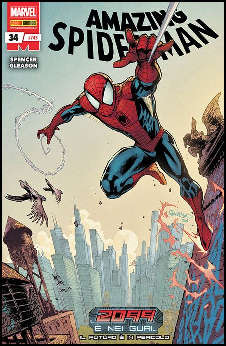 UOMO RAGNO #   743 - AMAZING SPIDER-MAN 34