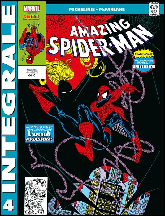 MARVEL INTEGRALE - SPIDER-MAN - TODD MCFARLANE #     4