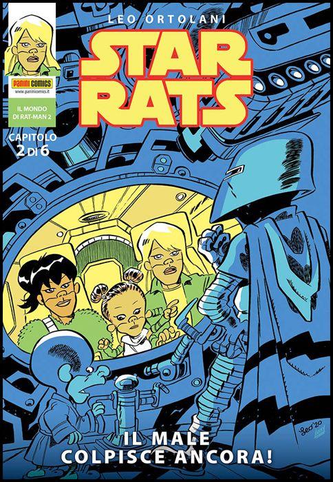 IL MONDO DI RAT-MAN #     2 - STAR RATS 2: IL MALE COLPISCE ANCORA!