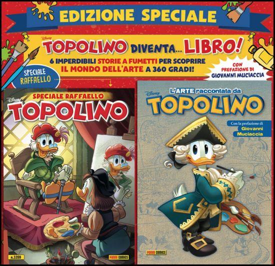 TOPOLINO LIBRETTO #  3359 - EDIZIONE SPECIALE + L'ARTE RACCONTATA DA TOPOLINO