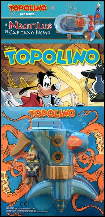 TOPOLINO LIBRETTO #  3356 + NAUTILUS DI CAPITANO NEMO 2 (DI 2)