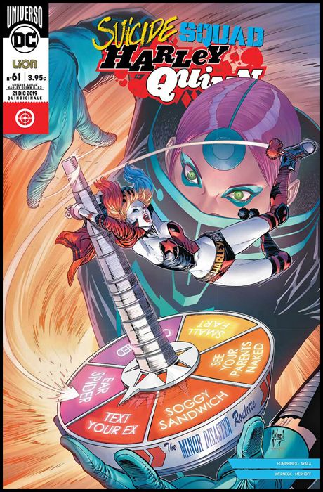 SUICIDE SQUAD/HARLEY QUINN #    83 - SUICIDE SQUAD/HARLEY QUINN 61