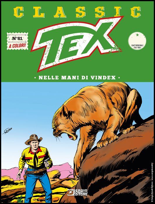 TEX CLASSIC #    81: NELLE MANI DI VINDEX