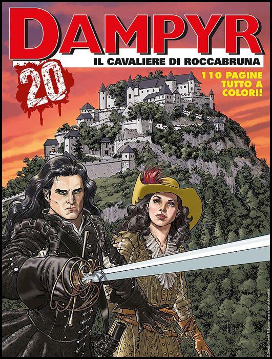 DAMPYR #   241: IL CAVALIERE DI ROCCABRUNA - A COLORI