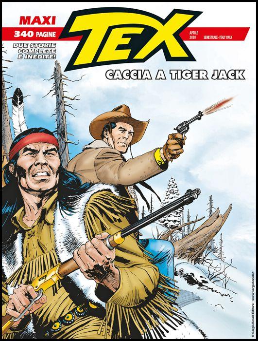 TEX MAXI #    26: CACCIA A TIGER JACK