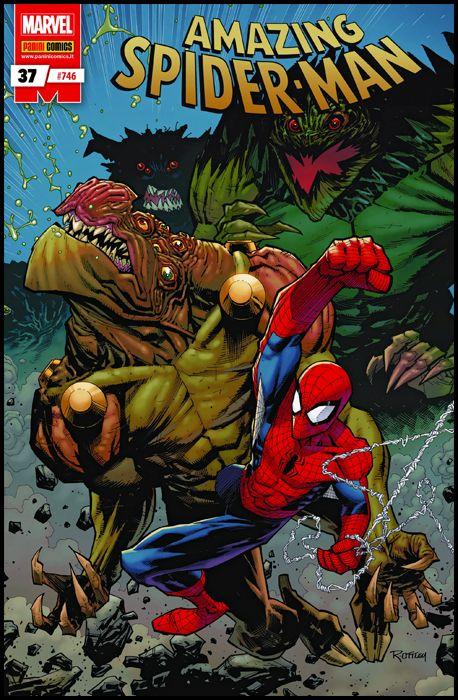 UOMO RAGNO #   746 - AMAZING SPIDER-MAN 37