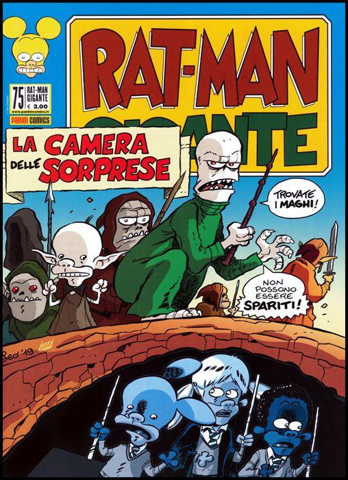 RAT-MAN GIGANTE #    75: IL GRANDE MAGAZZI E LA CAMERA DELLE SORPRESE