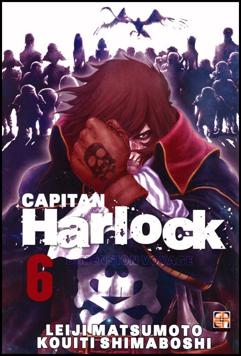 CULT COLLECTION #    43 - CAPITAN HARLOCK DIMENSION VOYAGE 6