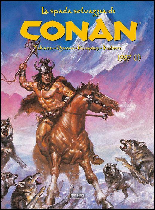 CONAN LA SPADA SELVAGGIA CARTONATO #    23 - 1987 PARTE 1