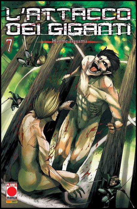 GENERATION MANGA #     7 - L'ATTACCO DEI GIGANTI 7 - 4A RISTAMPA