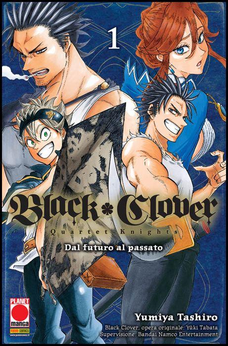 POWERS #     8 - BLACK CLOVER - QUARTET KNIGHTS 1