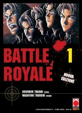 BATTLE ROYALE  1/15 COMPLETA  + BATTLE ROYALE ANGEL'S BORDER 1/2 + BLITZ ROYALE - BATTLE ROYALE II