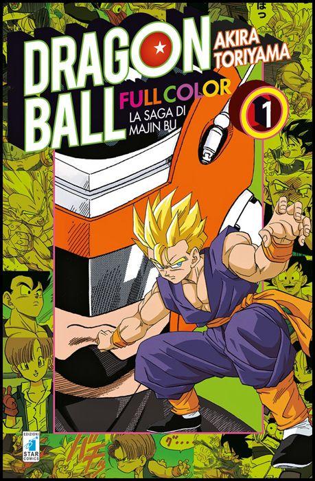 DRAGON BALL FULL COLOR #    27 - LA SAGA DI MAJIN BU 1 ( DI 6 )