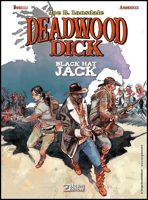 DEADWOOD DICK: BLACK HAT JACK - CARTONATO