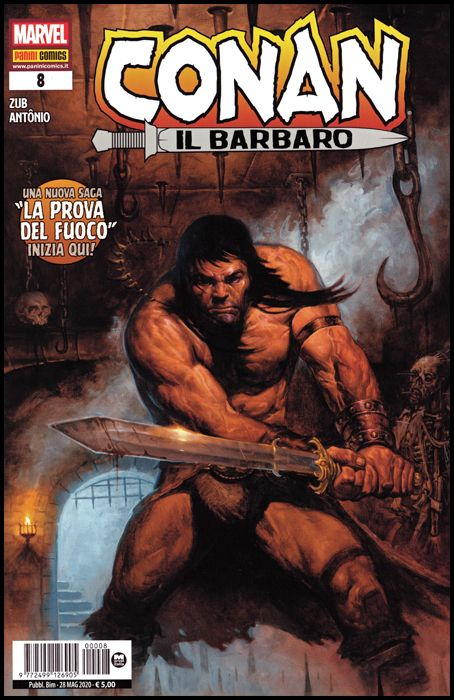 CONAN IL BARBARO #     8