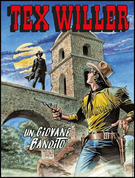 TEX WILLER #    17: UN GIOVANE BANDITO