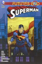 DC GALAXY -  FUTURES END SUPERMAN 1/2 completa