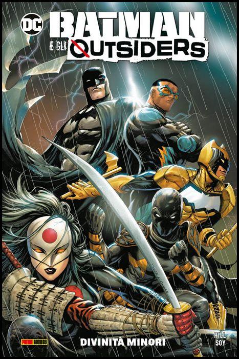 DC COMICS COLLECTION INEDITO - BATMAN E GLI OUTSIDERS #     1: DIVINITÀ MINORI
