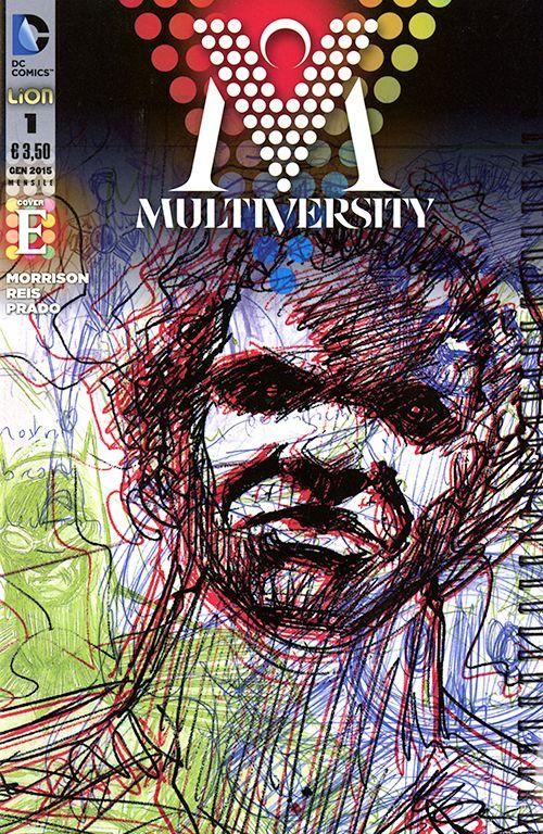 DC MULTIVERSE 1/9 completa nuovi - n 1- COVER E - MULTIVERSITY POINT