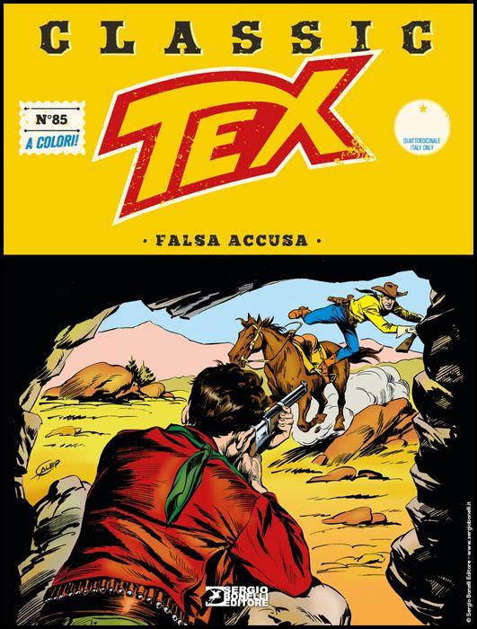 TEX CLASSIC #    85: FALSA ACCUSA