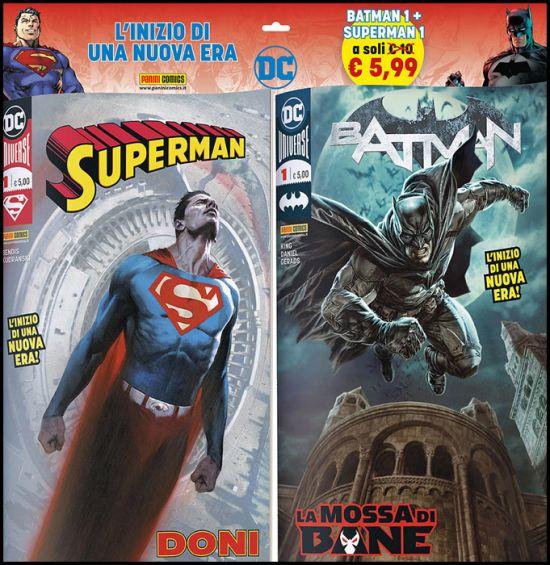 DC COMICS PACK: BATMAN 1 + SUPERMAN 1