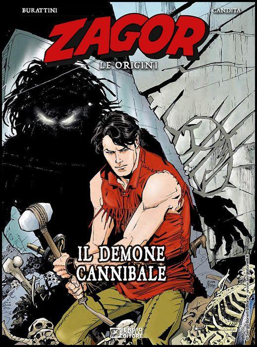ZAGOR - LE ORIGINI #     3: IL DEMONE CANNIBALE - CARTONATO