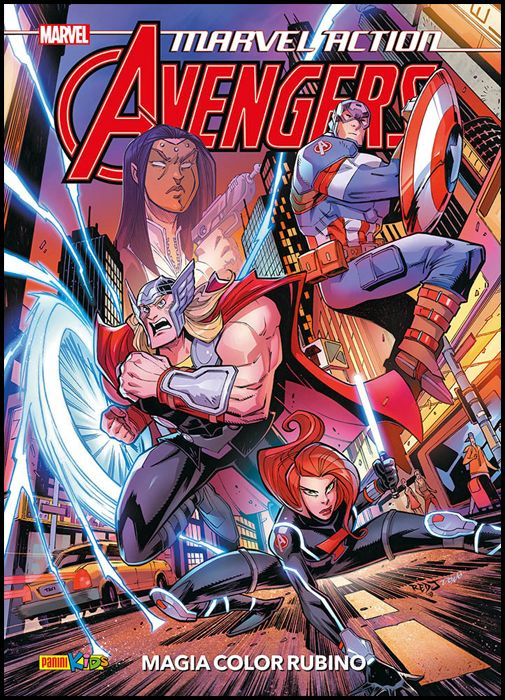 MARVEL ACTION - AVENGERS #     2: MAGIA COLOR RUBINO