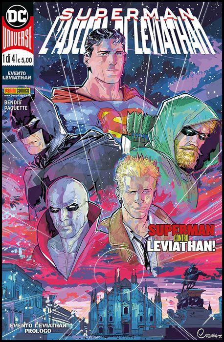 DC CROSSOVER #     1 - LEVIATHAN 1 - SUPERMAN: L'ASCESA DI LEVIATHAN
