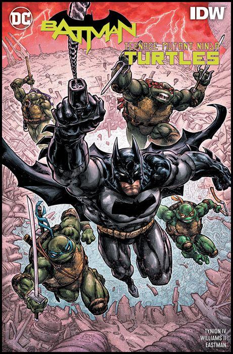 DC COMICS COLLECTION INEDITO - BATMAN/TEENAGE MUTANT NINJA TURTLES III: CRISI IN UN GUSCIO