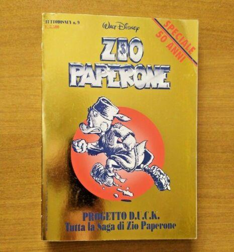 TUTTO DISNEY #     9: PAPER DINASTIA - ZIO PAPERONE - D.U.C.K. - SPECIALE EXPOCARTOON - CARTONATO