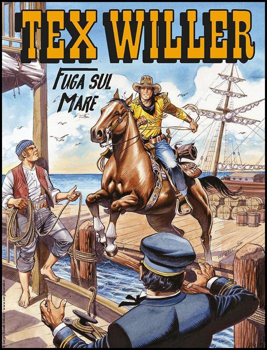TEX WILLER #    19: FUGA SUL MARE