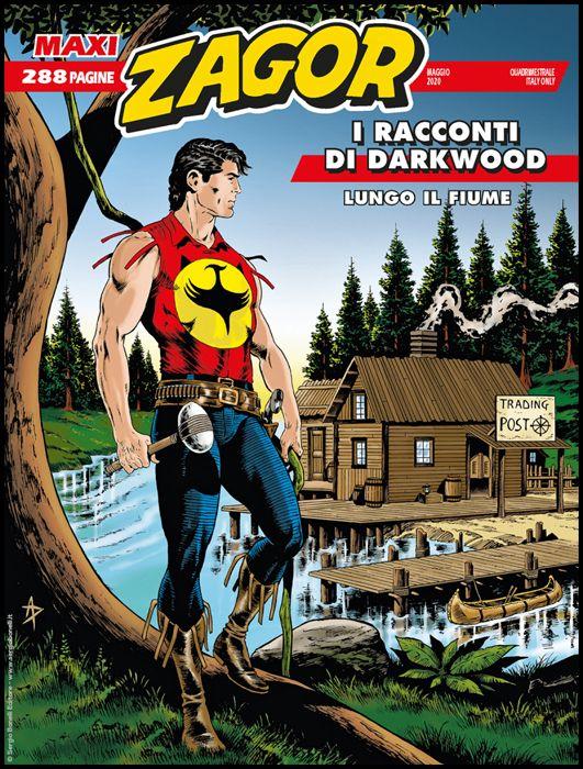 ZAGOR MAXI #    39: I RACCONTI DI DARKWOOD 4 - LUNGO IL FIUME