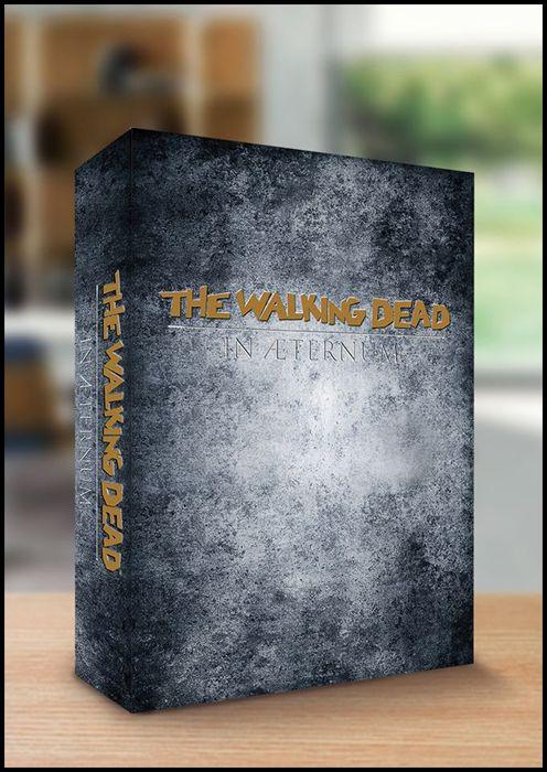 WALKING DEAD EDICOLA - IN AETERNUM BOX DA COLLEZIONE 1500 COPIE - NUMERI 67-68-69-70 NO LOGO