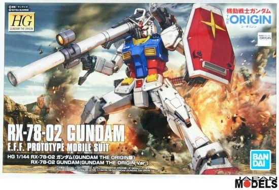 GUNDAM: RX 78 - 02 GUNDAM ORIGIN