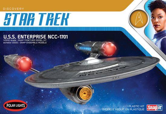 STAR TREK DISCOVERY U.S,S. ENTERPRISE MODEL KIT SCALA 1/2500 SN 2T