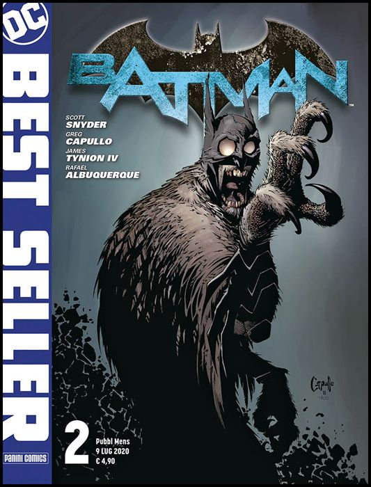 DC BEST SELLER #     2 - bATMAN di SCOTT SNYDER & GREG CAPULLO 2