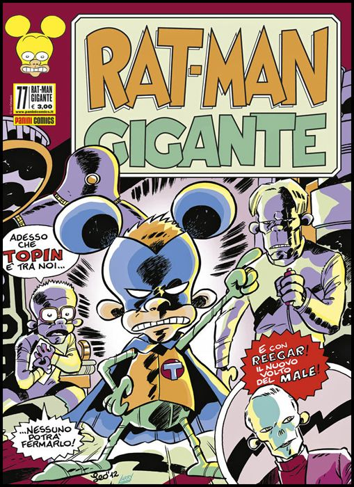 RAT-MAN GIGANTE #    77: IL RETTILE