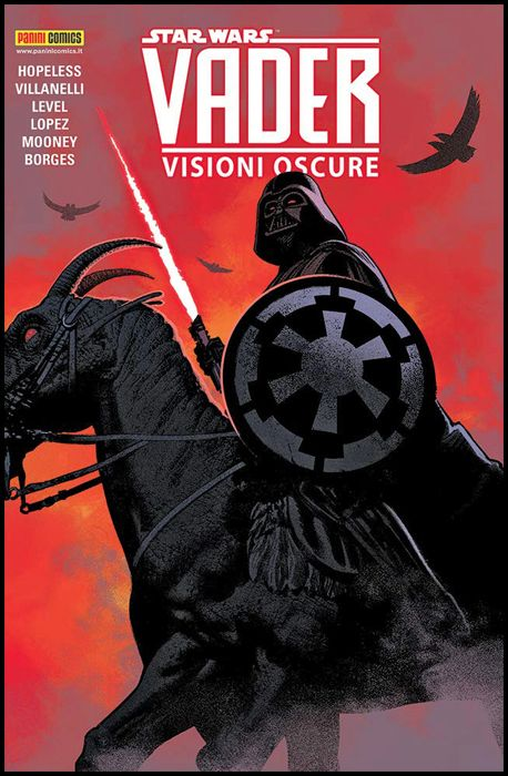 STAR WARS COLLECTION BROSSURATO - DARTH VADER 2A SERIE #     5: VISIONI OSCURE