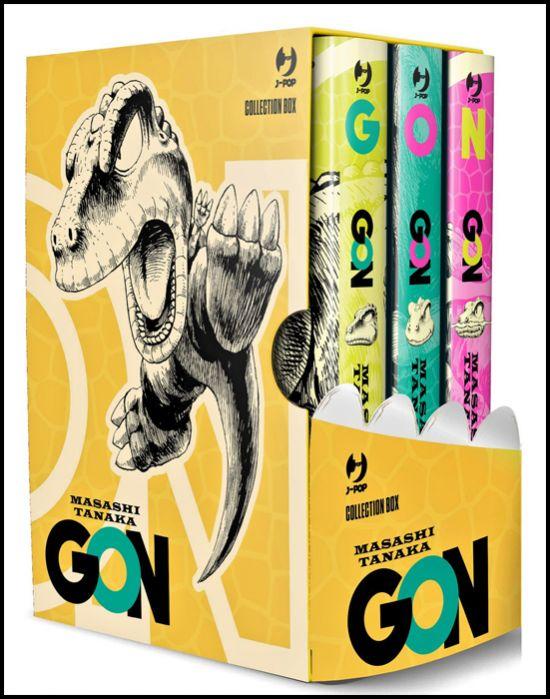 GON BOX COMPLETO - VOLUMI 1-2-3